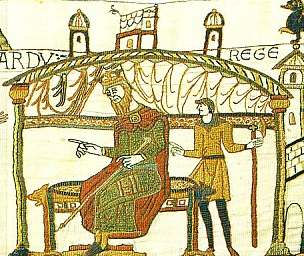 Bayeux tapestry : Edward the confessor