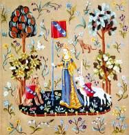 Le lit de vos r ves la dame a la licorne l odorat - La tapisserie de la dame a la licorne ...